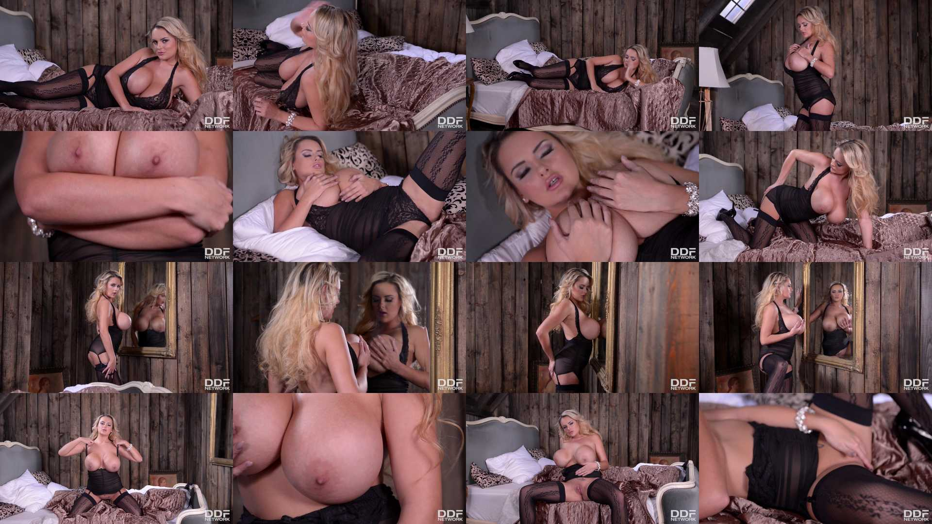 Katie T Aka Katiethornton in Big Titties and Bottom: Blonde